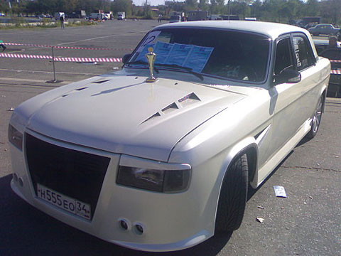 ТЮНИНГ Волга ГАЗ 3110 тюнинг
